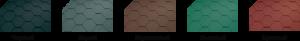 Гибкая черепица Катепал